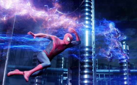 паук, мужчина, new, amaze, сниматься, high, voltage, trailer