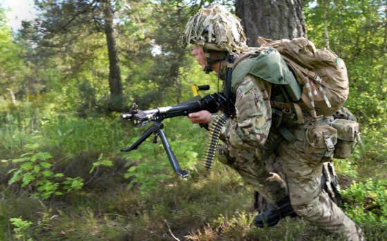 british, армия, солдат