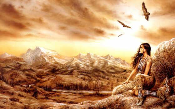 ,бувушка, горы, птицы,