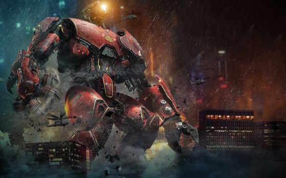robot, pacific, рубеж
