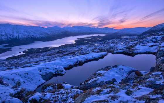 норвегия, norwegian, горы, winter, mountains, снег, монитора,