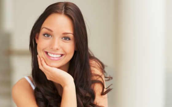 девушка, улыбка, красивая, лицо, настроение, devushki, шатенка, фоны,