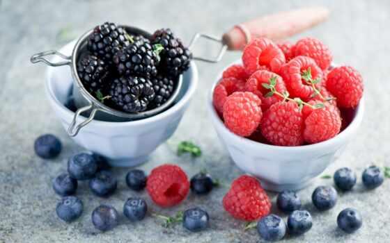 малина, черника, ягода, blackberry, verdina, анна, посуда, табличка, плод