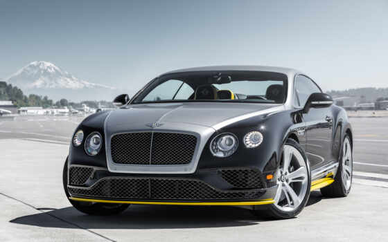 bentley, continental, скорость