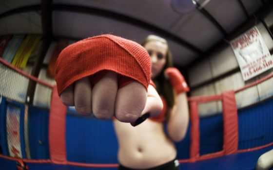 ,кулак, бокс, спорт, девушка,