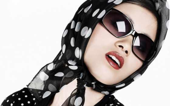 очки, девушка, очках, фоны, зрения, категории, headphones, взгляд, devushki, картинка,