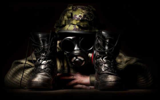камуфляж, маска, ghost, воин, снайпер, страница, природа,