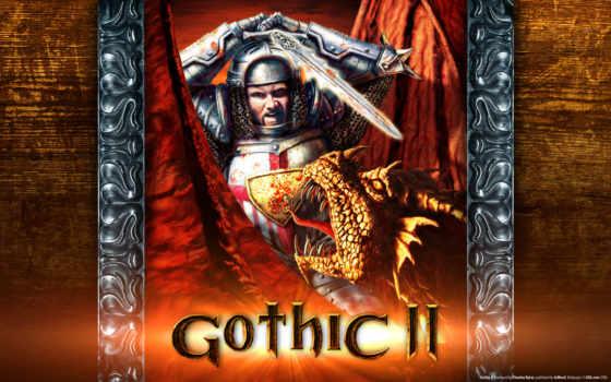 gothic, ворон, ночь