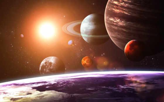 system, солнечная, солнечной, планеты, системы, sun, land, cosmos, planet, galaxy, луны,