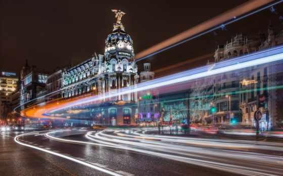 building, мадрид, испания, испании, город, metropolis, здания, всех, красивые,