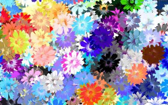 фотообои, cvety, нарисованные, стену, интерьере, купить, заказать, стен,