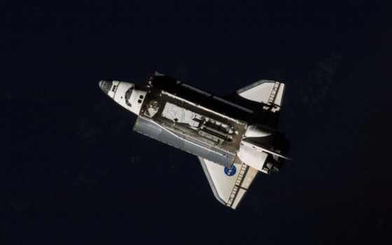 shuttle, дискавери, станции, космической, международной,