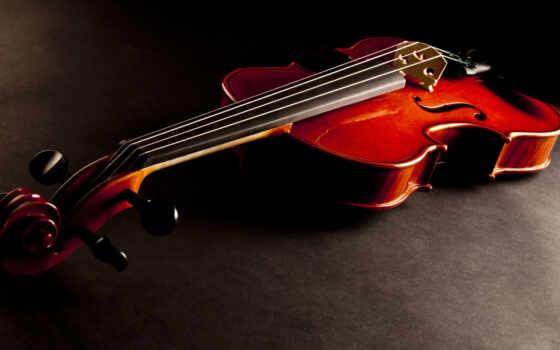 скрипка, инструмент, музы, струны, dark,