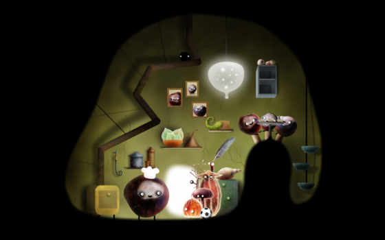 botanicula, game, amanita, design, machinarium, android, студией,