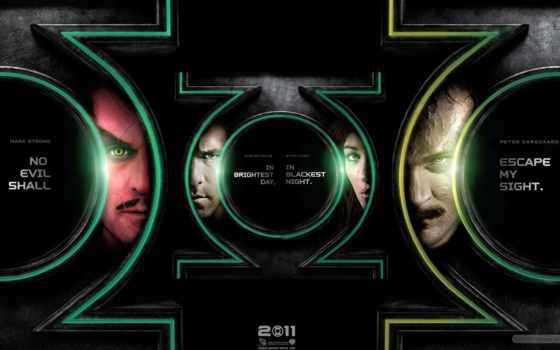 зелёный, lantern, movie