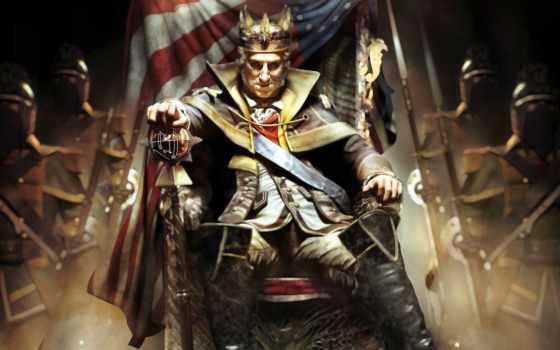 creed, assassin, washington, tyranny, king, iii,