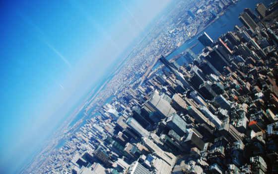 нью, york, небоскрёб