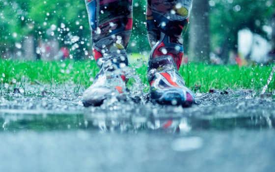 boots, резиновые, брызги