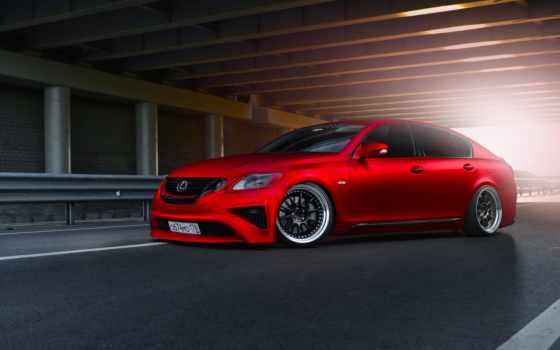 lexus, red, автомобили