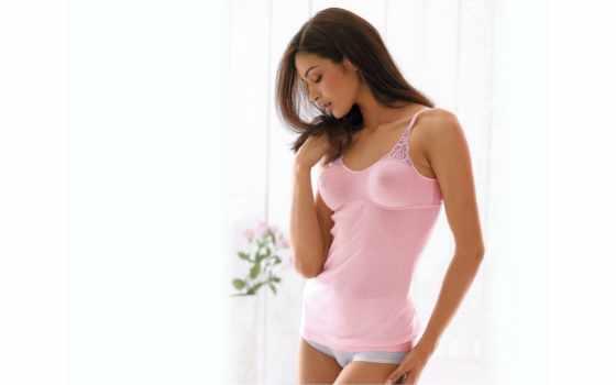 белье, нижнем, fone, розовом, окна, девушка, банка,