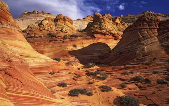 arizona, scenic, utah, каньон, del, las,