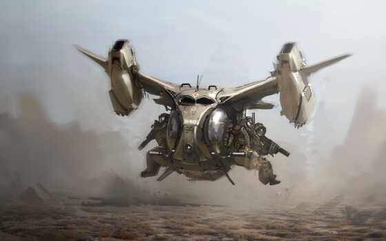 vtol, spaceship, card, техник, вертолет, cyberpunk, империя, ronulovskii, plane, puryaeva, коммуникации