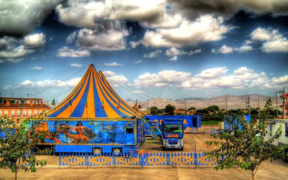 цирк, альморади, испания, valencia, небо,