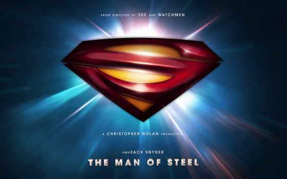 hombre, acero, superman