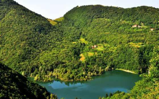 природа, reki, italian, liguria, картинка, лес, монтоджо, озера, макро, город, pictures,