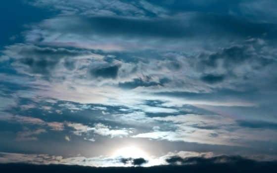 природа, full, закат