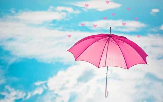 фон, зонтик, компьютер, high, товар, красавица, health, smartphone