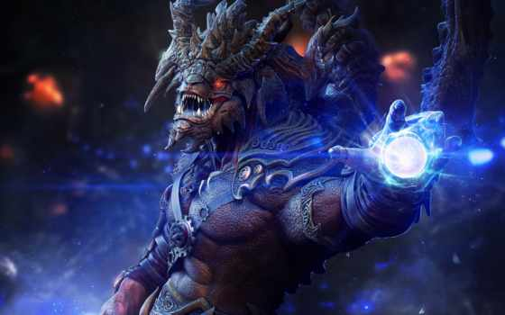 демон, monster, магия, lord, спорт, фантастика, рогатый, fantasy