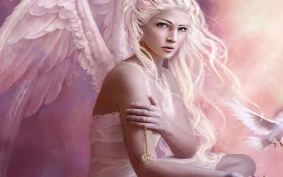 angel, ангела, девушка, white, fantasy, fentezti, stokovyi, arm, black, love, фото