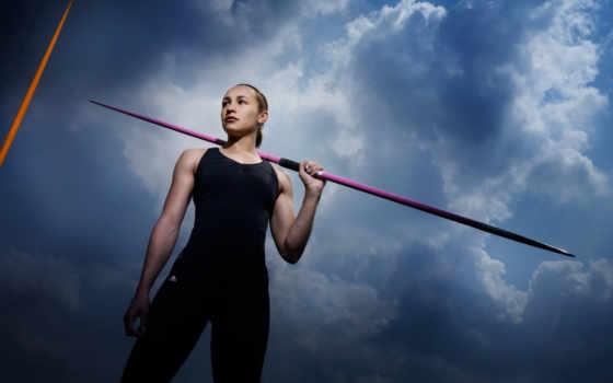 атлетика, спорт