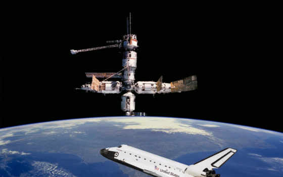 shuttle, космос
