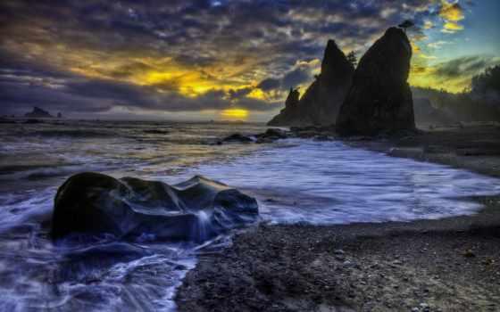 берег, море Фон № 25055 разрешение 2560x1600