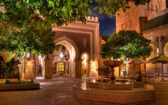 города, фонтаны, fountains, usa, сша, посмотреть, чтобы, истинном, hdr, обою, street, disneyland, california, размере, cities,