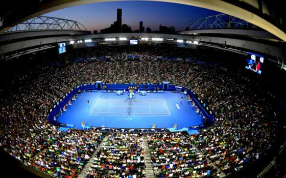 tennis, суд, blue
