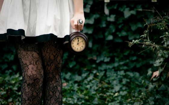 ноги, девушка, часы