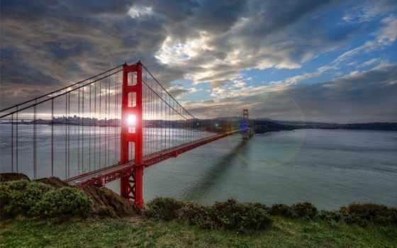 золотистый, gate, мост, art, posters, allposters, prints, стена, san, плакат,