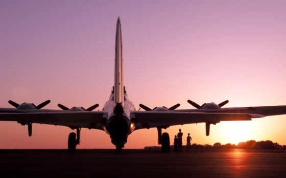 самолёт, самолеты, закат, техника, аэродром, закате, загружено, коллекция, лучшая, sun,