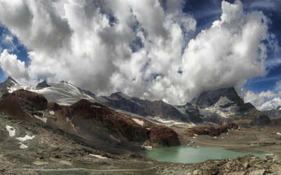 ultra, desktop, пейзажи -, природа, гора,