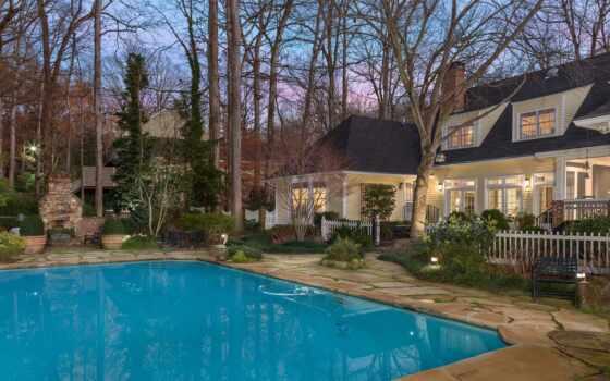 home, pantalla, бассейн, планшетный, casa, фон, качество, ton, piscina, house
