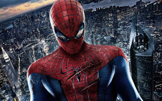человек, новый, паук