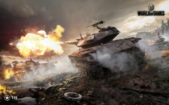 tanks, world, танки, игры, shot, t49, wot,