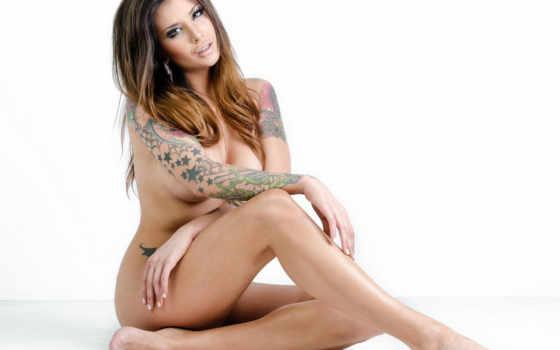 gomez, veronica, brunette, татуировка, разрешением, девушка, эротика, модель, словами,
