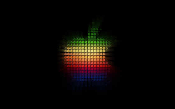 ipad, apple, logo