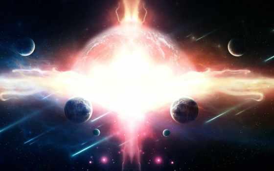 cosmos, планеты, астрономическая, широкоформатные, красивая, картинка,