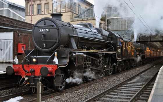 steam, поезд, engine, trains, локомотив, wallpapersafari, share,