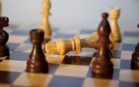 chess, фигуры, game, king, когда, pawn, заканчивается, падают, одну,